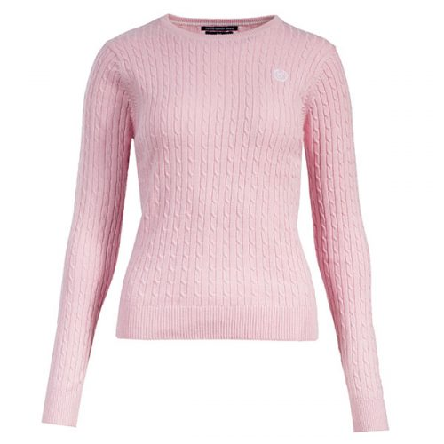 Horze Ladies Crescendo Reanna Sweater - Pink