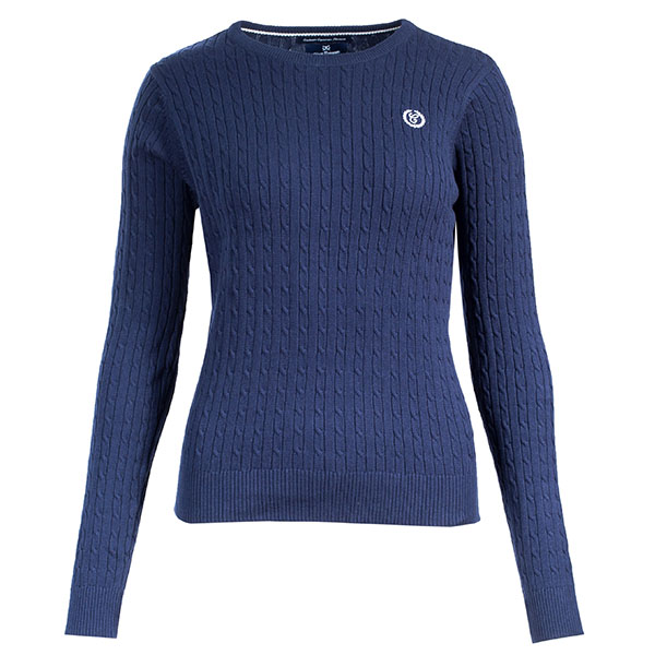 Horze Ladies Crescendo Reanna Sweater - Navy