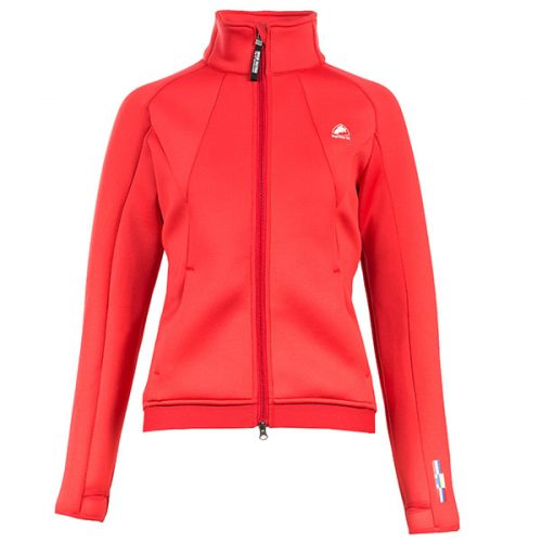 Horze Ladies Nanda Sweat Jacket - Red