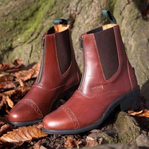 Toggi Richmond Leather Jodhpur Boots - Brown