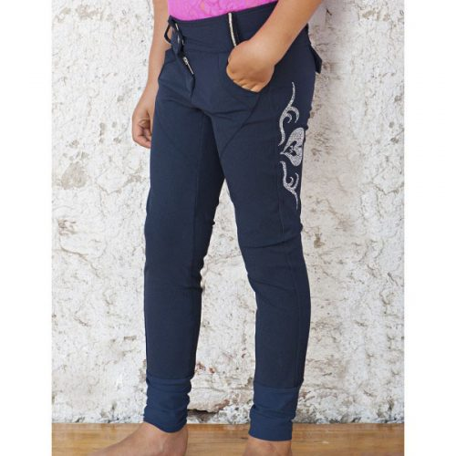For Horses Susi Breeches - Navy